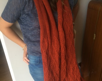 Lace Knit Scarf