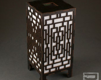Solar-Powered Mini Table Lamp