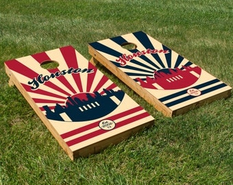 Houston Texans Cornhole Board Set