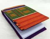 Notepad Cover in African Kente print - GLIZ_044