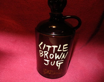 MUSICAL BROWN JUG