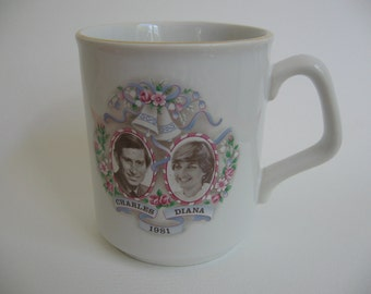 Mug Royal Wedding Charles And Diana England 1981