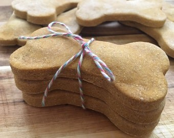 Pumpkin Peanut Butter Pup Treats