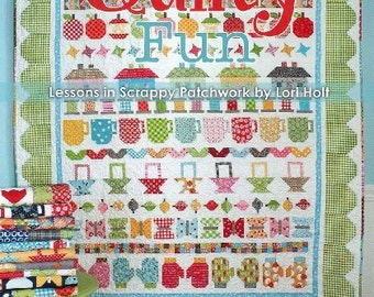 Quilty Fun: Lessons in Scrappy Patchwork New