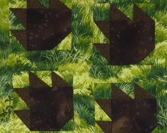 Bear Paws quilt pattern