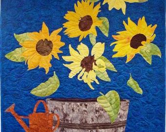 Sunflower Delight quilt pattern