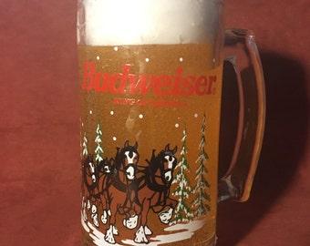 Budweiser Clydesdale Beer Mug Gel Candle