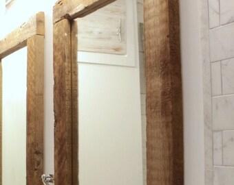 Reclaimed Barn Wood Mirror