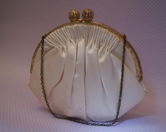 vintage party purse /bride pouch