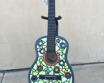 Decorative Mosaic Guitar