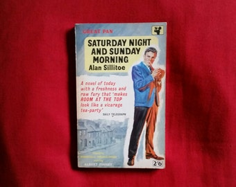 Alan Sillitoe - Saturday Night and Sunday Morning (Pan 1960)