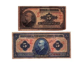 Brazil Banknotes