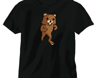 Pedobear 4Chan Kumachan Meme Shirt