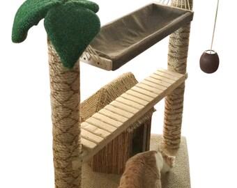 Kitty Kabana Cat Tower