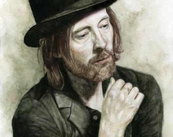 Thom Yorke Giclée Fine Art Print