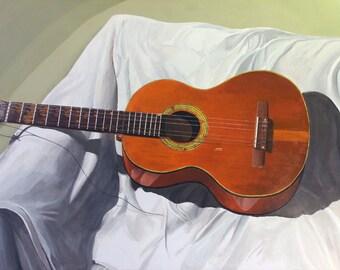 Digital print of original acrylic painting