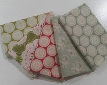 Tilda cotton fabric fat quarters set of 5