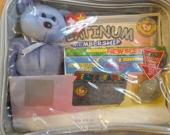 1998 Platinum Beanie Membership Kit
