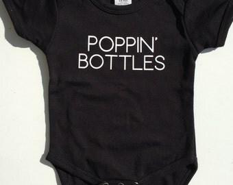 Poppin' Bottles Onesie
