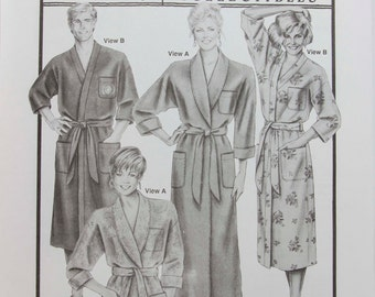 Ann Person Collectibles Stretch and Sew Pattern - Classic Robes # 2000 - Sewing Pattern