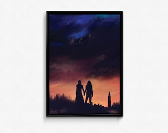Earth meets the Sky poster