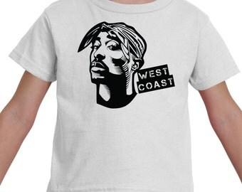 West Coast Tupac Infant/Toddler Shirt