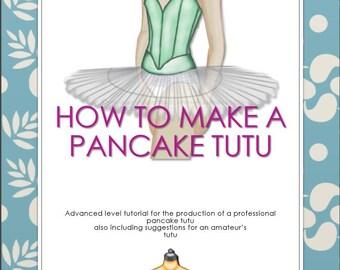 Pancake tutu, patterns plus tutorial