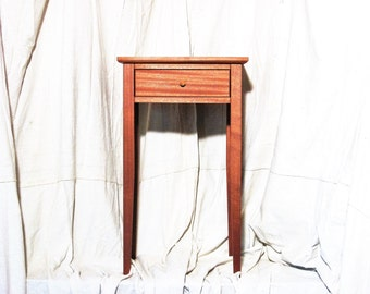 Mahogany Oldwood Bedside Table