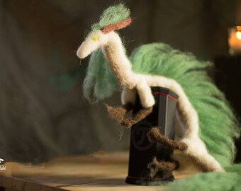 Dragon Haku, Ghibli, spirited away, organic sheep's wool