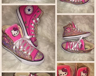 Hello kitty bling converse