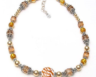 Butterscotch Meltie Necklace
