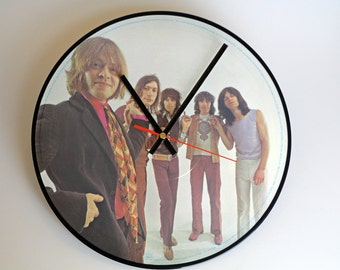 "Rolling Stones Picture Disc 12"" Record Clock"