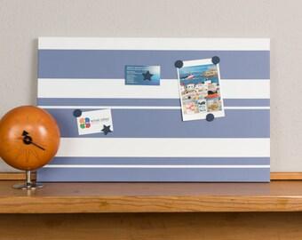 Denim Stripe Magnetic Noticeboard
