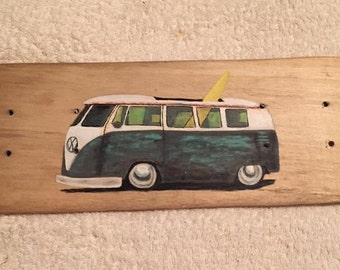 Custom Kombi Skateboard Art
