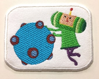 """Relax and Roll Katamari Patch - 4"""" x 3"""""""