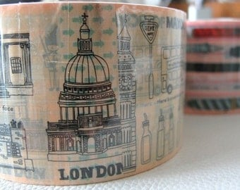 LONDON Thick Deco Masking Tape