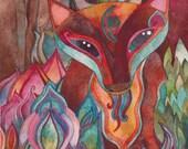 Mabitou  Giclee print by Megan Noel