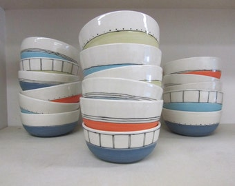 MADE TO ORDER ~ Snack Bowls