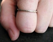 Sterling Silver Stacking Ring - Custom Created in your Size