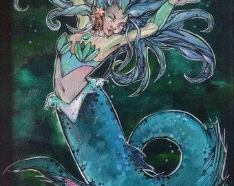 Mermaid She-Ra Mermista - For the Honour of Grayskull - Giclee Print