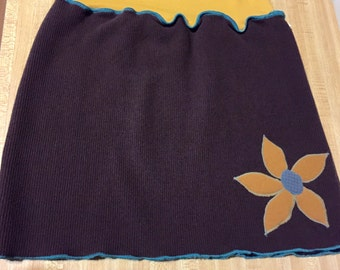 Mini skirt hipwarmer