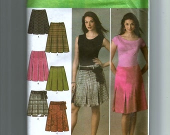 Simplicity Misses' Skirt In Two Lengths Pattern 4498