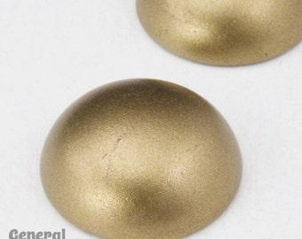 18mm Matte Bronze Cabochon (2 Pcs) #3863