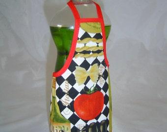 Tomato Olives Pasta Decor Dish Soap Apron Bottle Cover Wrap Staffer Party Favor Lg