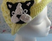 Crochet Lace Boston Terrier Hat Made to Order