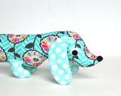 Plush Wiener Dog Softie for Kids  Dachshund Baby Toy Stuffed Animal MADGE
