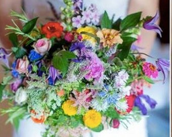 Large plus delivery -  Fresh Hand-Tied Mother's Day Bouquet