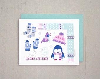 Season's Greeting Greeting Card