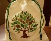 Mazel Tov Groom's Glass Smash Bag Tree Of Life