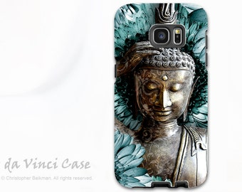 Buddha Galaxy S7 / S7 Edge Case - Dual Layer Two Piece Protective Floral Buddhist Tough Case - Mind Bloom